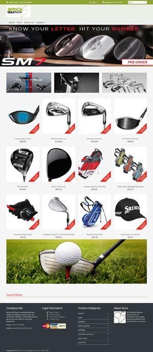 Golf-Webstore