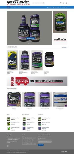Gym-Supplement-Webshop
