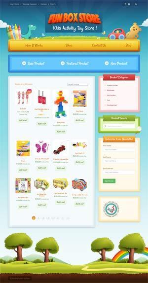 Kids Toys Webshop