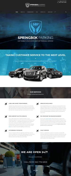 Parking Booking Webstore